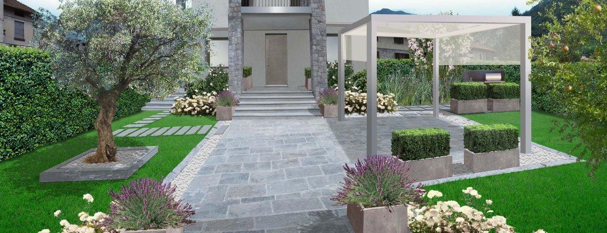 Giardino pensile roof garden claudia arrighetti for Giardini in terrazza immagini